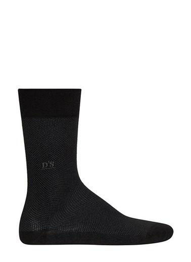 D'S Damat D'S Damat 628 Erkek Bambu Pike Çorap  İndigo